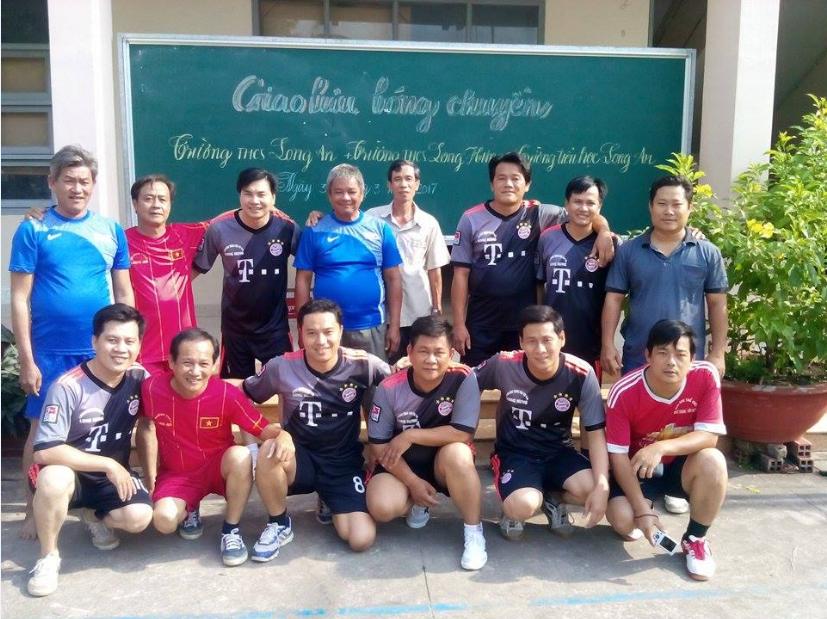 Giao lưu bóng chuyền giữa Trường THCS Long An - Trường THCS Long Hưng - Trường TH Long An